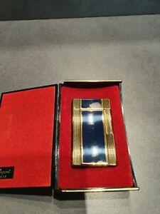 ORIGINAL S.T.DUPONT FEUERZEUG GOLD - CHINALACK LINIE 1 GROSS