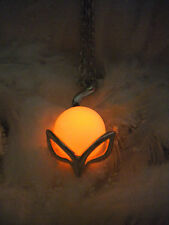 Fox Amulet Necklace - Glow in the Dark - Animal Totem