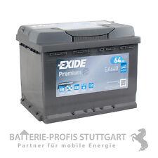 Exide Premium Carbon Boost 12V/64Ah 640A ersetzt 60Ah 62Ah 65Ah 66Ah