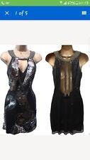 RARE Karen millen sequin dress size 12