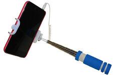 Selfie Stick Mini Blau Monopod Teleskopstange Teleskoparm Halterung Stativ Neu