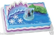 NEW FROZEN BIRTHDAY PARTY FAVORS ANNA ELSA OLAF CUPCAKE CAKE KIT TOPPER GIRLS