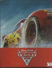 Cars 3 3D (2017) s.e. 2 Blu Ray metal box