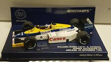 Williams FW10 N°6 K. Rosberg Winner Australian GP 1985 Minichamps 400850006 1/43