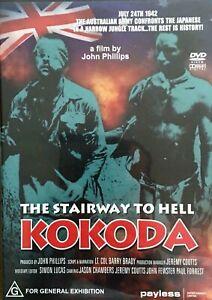Kokoda Trail DVD Documentary World War 2 II Australian Japanese Soldier