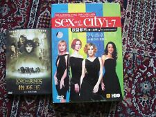 Sex and the city seasons 1-7 32 DVD disc set plus Fellowship of the ring Region1