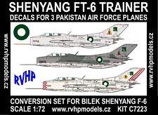 RVHP Models 1/72 Shenyang FT-6 (Chinese MiG-19 trainer) Conversion Set