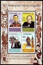 St. Kitts-Nevis 1974 ** Bl.3 Sir Winston Churchill  [sp435]