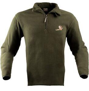 Jack Pyke Pheasant Motif Fleece Pullover Jumper Hunting Shooting Fishing game