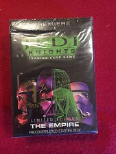 Star Wars Jedi Knights Trading Card Game Starter Deck Ccg 1st Day Printing New