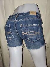 Abercrombie & Fitch  Women's Denim Shorts Size ( 00-W 24 ) Blue