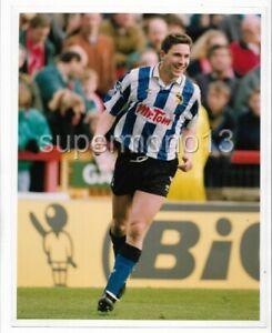Original Press Photo - DAVID HIRST (Sheffield Wednesday FC) dated 6 April 1992