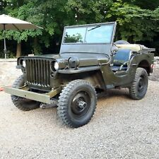 Willys jeep 1945 Ford GPW jeep military vehicle classic car barn find