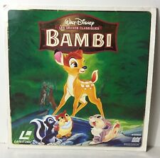 Laser Disc /Laser Disque Film Walt Disney Bambi Voir Photos