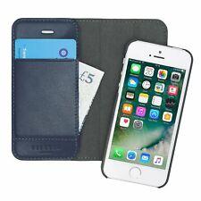 Genuine Cuero Pipetto iPhone SE 5S 5 Nueva Funda Desmontable estilo Billetera Magnética
