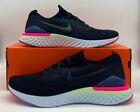Nike Epic React Flyknit 2 Running Shoe Black White Sapphire BQ8928-003 Mens Size