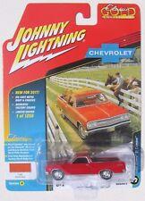 JOHNNY LIGHTNING 2017 CLASSIC GOLD 1965 CHEY EL CAMINO #3 1/1,256 Rally Red