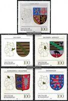 BRD (BR.Deutschland) 1712-1716 (kompl.Ausgabe) gestempelt 1994 Wappen