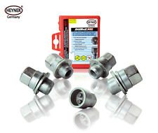 Kia Opirus 2006-on wheel locking nuts M12x1,5 anti-theft for alloys