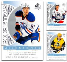 2017-18 SP Authentic Rookie Year Milestones *** PICK YOUR CARD *** From The LIST