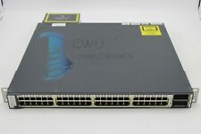 USED Cisco WS-C3750E-48PD-SF Catalyst 3750E, 48x10/100/1000 PoE+2x10GE Switch