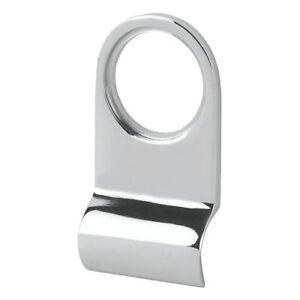 Smith & Locke Polished Chrome Cylinder Door Pull Latch 40mm NEW