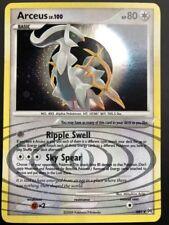 Carte Pokemon ARCEUS AR5 LV.100 HOLO Secrète ENGLISH NEUF