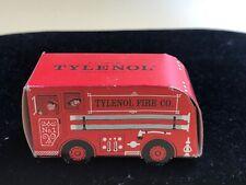 Fire truck Tylenol Fire Co. Elixer Diecut packaging Ephemera advertising 1955