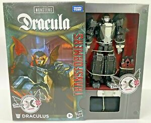 IN HAND HASBRO TRANSFORMERS COLLABORATIVE UNIVERSAL MONSTERS DRACULA MASH-UP