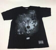 Rocksmith Clothing Lone Wolf Graphic T-Shirt Mens Medium