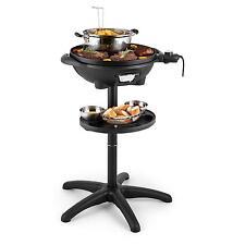 Klarstein Piastra Griglia elettrica portatile Barbecue antiaderente tavolo 1600w