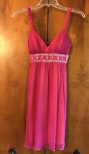 NWT City Triangles Pink Sleeveless Baby Doll Cocktail Dress Size S Small