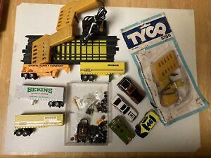 Vintage TYCO Slot car body/& Parts lot