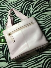 *New* Alpha, Genuine Leather, small pink Woman's/ladies handbag ☆100% Fab▪.