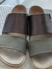 ECCO SLIP-ON SANDALS SIZE 38 VERY COMFORTABLE AS NEW
