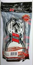 K-II Racing 1/8 RC Off Road Buggy Dish Wheel w/Tires For Traxxas HPI Associated
