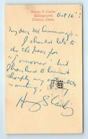 Henry Seidel Canby Signed Letter To Tomorrow Magazine 1947 Critic Editor Yale