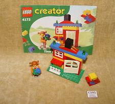 LEGO Sets: Creator Basic Set: 4172-1 Tina's House (2001) 100% 4JUNIORS w/INSTR