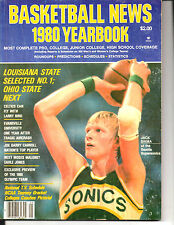 1980 BASKETBALL NEWS COLLEGE/PRO/HIGH SCHOOL BASKETBALL YEARBOOK-JACK SIKMA-RARE