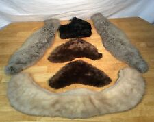 Lot 1 :  Six Pieces of Mink and Rabbit Fur Clothing Crafts