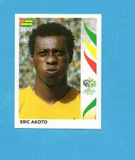 PANINI-GERMANY 2006-Figurina n.515- AKOTO - TOGO -NEW BLACK