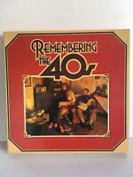 """Remembering The 40s""  Reader's Digest x8 Vinyl LP Box Set UK 1980"