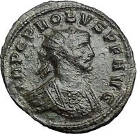 PROBUS 280AD Authentic Ancient Roman Coin PAX Peace Cult  i54862