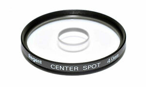 Centre Spot Clear  Made in Japan 49mm Filter