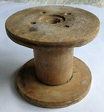 Vintage Large Wooden Spool/Reel 10 cms