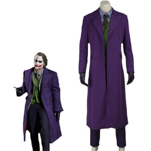 The Joker Costume cattivo Costume Uomo L 52 fellone Carnevale Costume