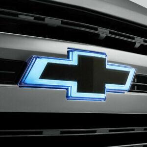 OEM 2019-2020 Silverado1500 Black Illuminated Front Grill Bowtie Emblem 84602325