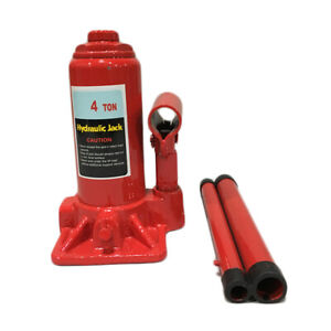 Hydraulic Bottle Jack 12 Ton Heavy Duty Lifting Stand Jacks Universal Hydraulic Vertical Trolley Jack Automotive Lifter Steel Car Vehicle Repair Tool for Car Saloon On Road or in Garage