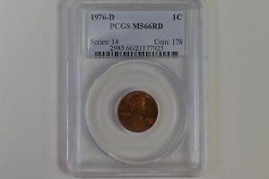 United States 1976-D 1C - PCGS MS66RD