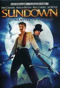 SUNDOWN: THE VAMPIRE IN RETREAT NEW DVD